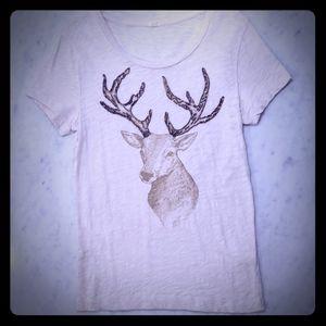 J. Crew deer t-shirt